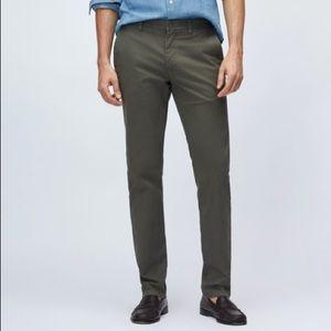 Bonobos Straight Fit Casual Chino Pants 33X30 NWOT